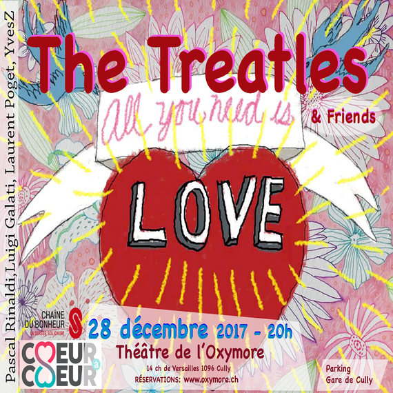ALL YOU NEED IS LOVE - The Treatles - (Benefit CONCERT)